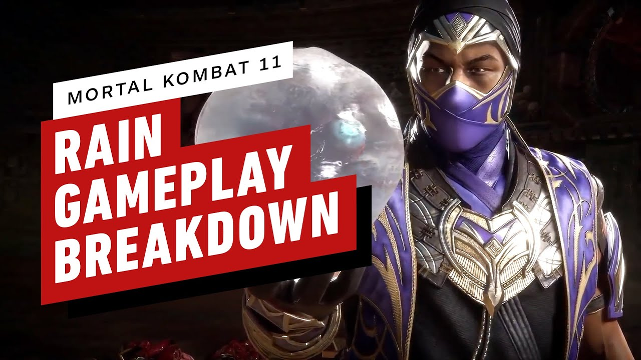 Mortal Kombat 11 Ultimate Edition - Rain Character Breakdown - IGN