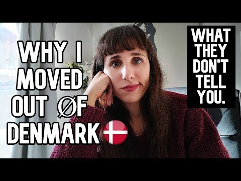 Why I moved OUT of Denmark - 3 things they don't tell you!