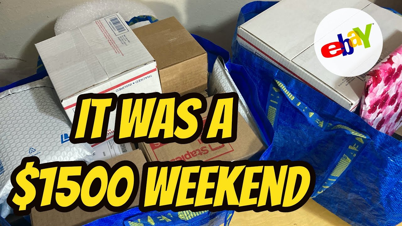 Download I Made $1500 This Weekend Selling Part-Time on eBay