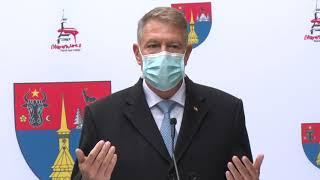 Declarații de presă susținute de către Președintele României, Klaus Iohannis