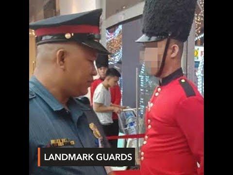 PNP fines 15 Landmark Makati guards for wearing Christmas costumes
