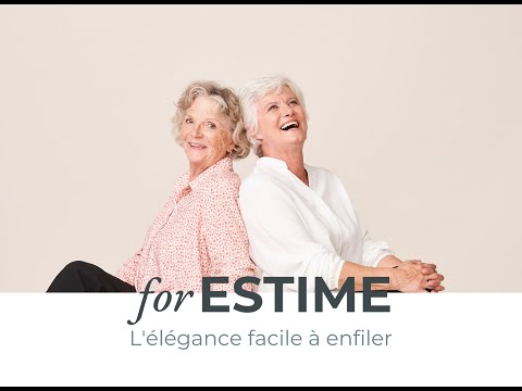 Présentation forESTIME marque de vêtements seniors