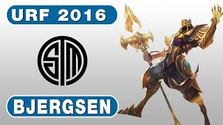 61. TSM Bjergsen URF 2016 - Azir vs Kassadin - Mid - April 22nd, 2016 - Season 6 - Patch 6.8