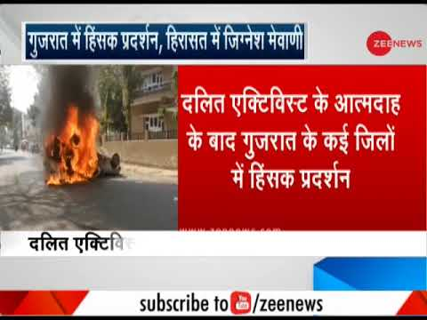 Dalit activist's death triggers protests in Gujarat, MLA Jignesh Mevani detained