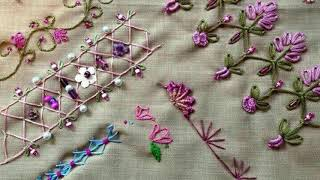 Hand Embroidery | Border Design | Hand Embroidery Designs