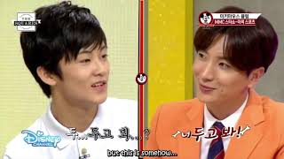 SM Rookies Mark Has His English Skills Tested By Super Junior's Leeteuk! (Mickey Mouse Club)