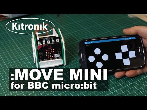 :MOVE mini buggy kit for the BBC micro:bit - Kitronik