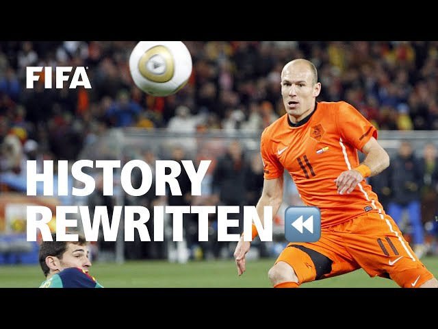 What if Robben had scored against Casillas in the 2010 FIFA World Cup Final?