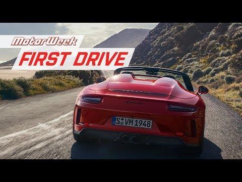 2019 Porsche 911 Speedster | MotorWeek First Drive