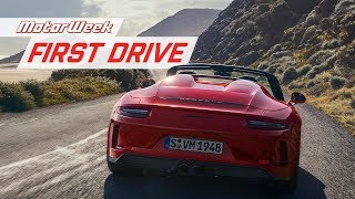 2019 Porsche 911 Speedster | MotorWeek First Drive