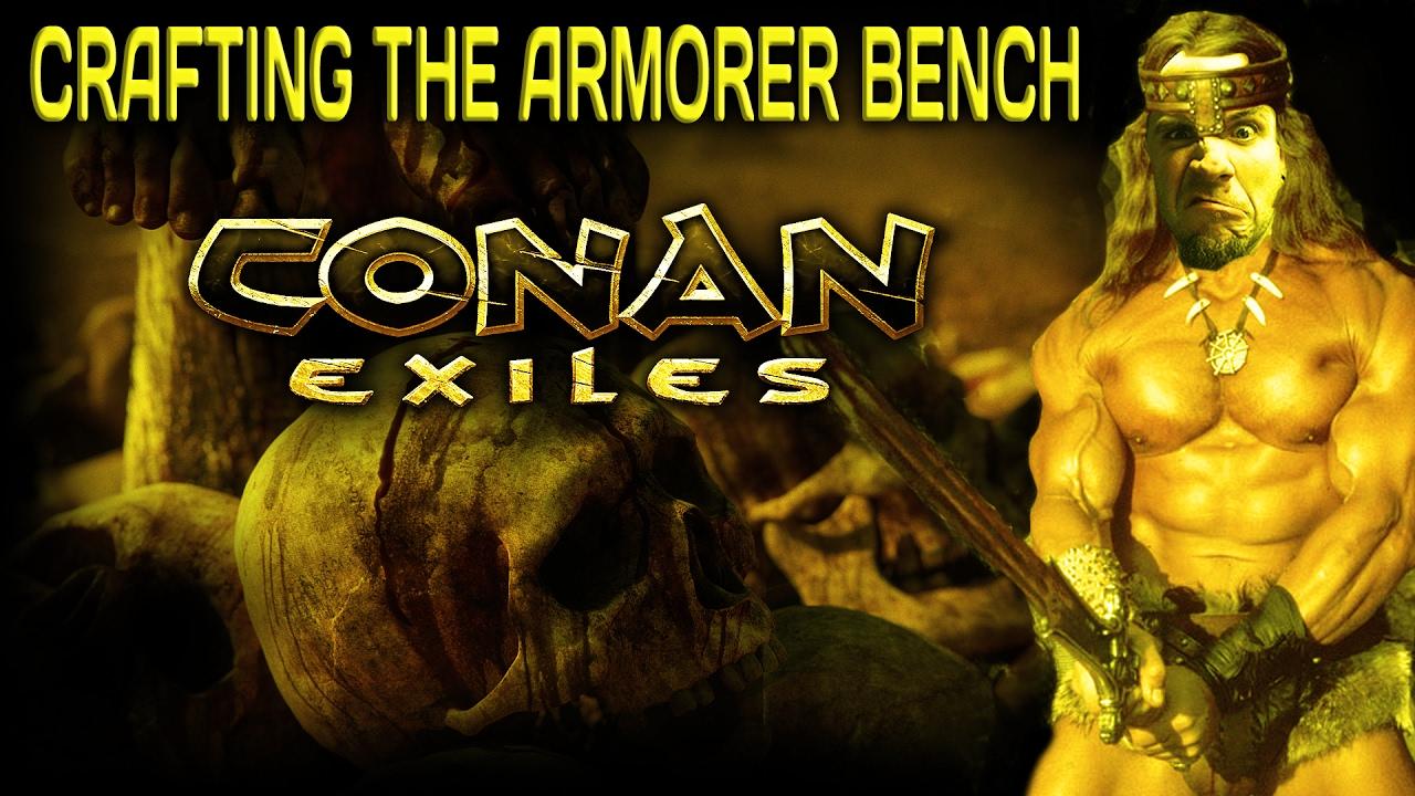 Conan Exiles Armorer S Bench Crafting Queue
