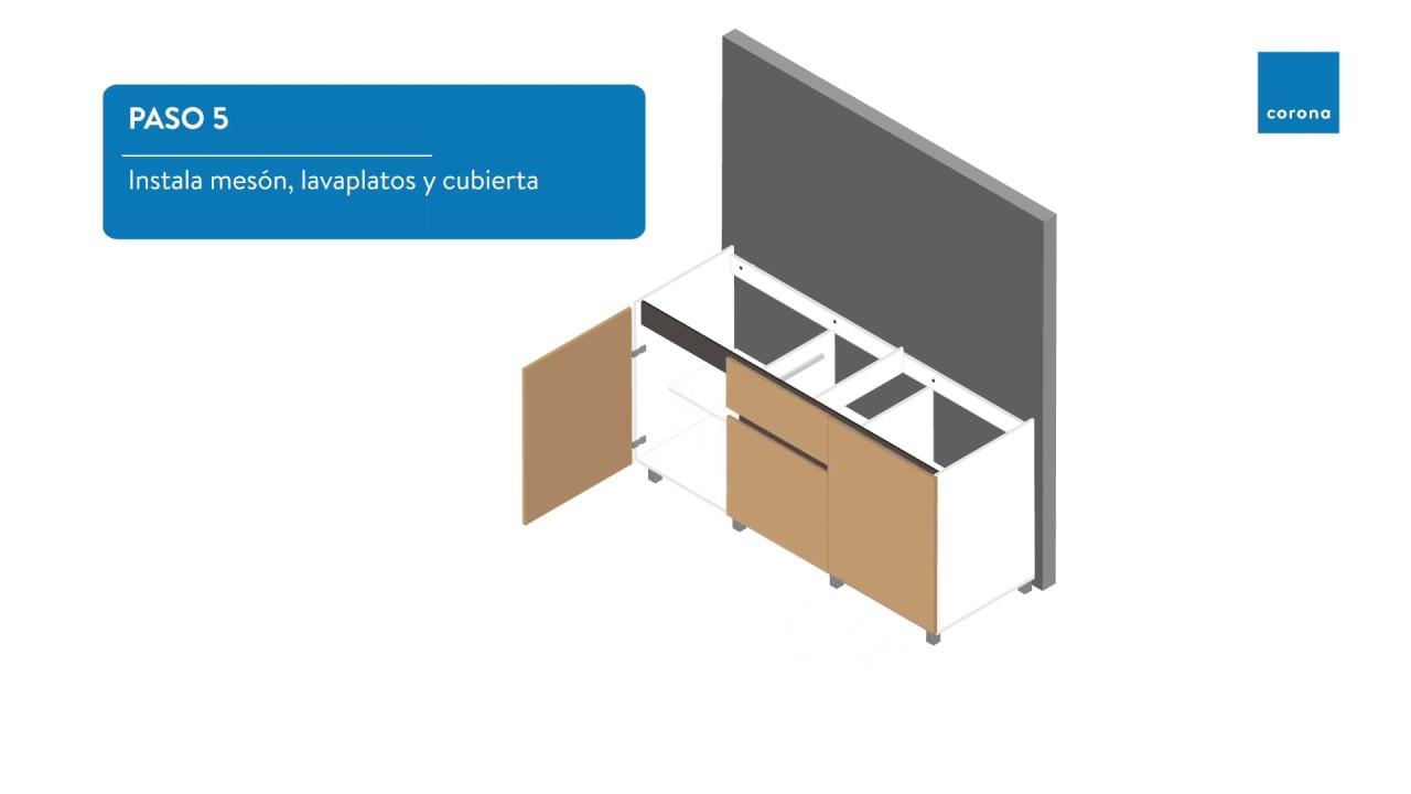 Aprende cómo armar tu mueble de Cocina | Hazlo tú mismo