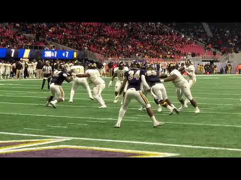 Celebration Bowl Highlights Interception by Franklin McCain III