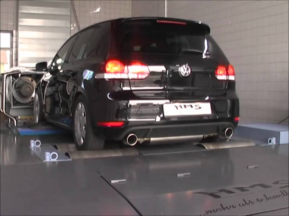 golf 6 gti mit hms klappenabgasanlage youtube. Black Bedroom Furniture Sets. Home Design Ideas