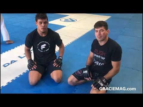 Demian Maia ensina defesa do leglock finalizando no kata-gatame