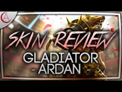 VAINGLORY SKIN REVIEW W/ 3D 🔸 GLADIATOR ARDAN EPIC TIER SKIN