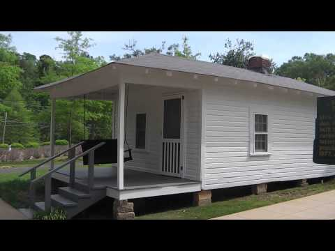 The house where Elvis Presley was born n Tupelo Mississippi