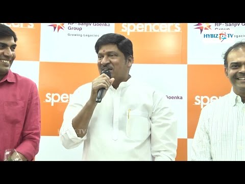 Rajendra Prasad Launches Spencers Retail Store In Hyderabad - Hybiz.tv