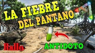 ARK SURVIVAL PS4 LA CURA FIEBRE DEL PANTANO