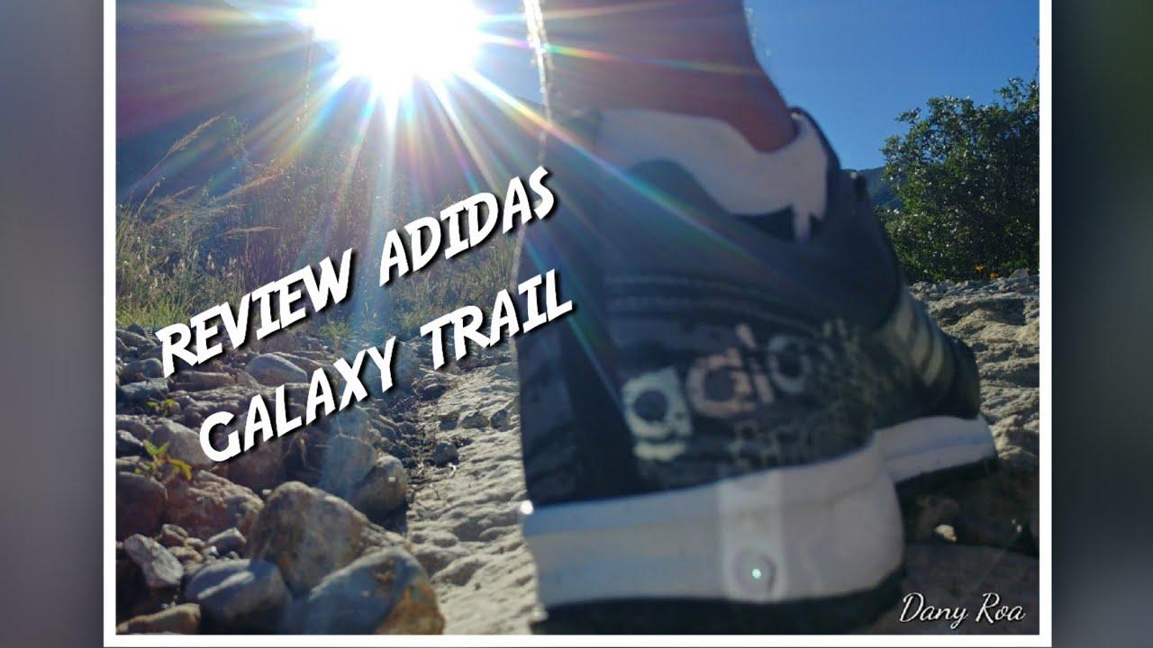 Eliminar Museo Abundantemente  Review adidas galaxy trail - YouTube