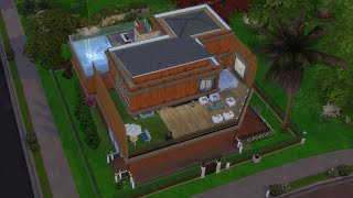 The Sims 4 House Building Game play (All in one house)