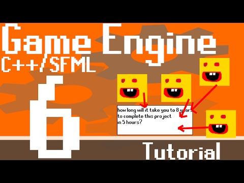 Basic C++/ SFML Game Engine Tutorial - Part 6 - Resource Managers Part 1