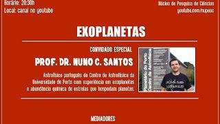 Hangout NUPESC (Internacional) - Exoplanetas