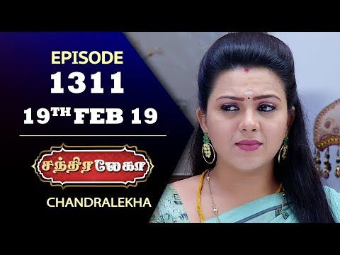 CHANDRALEKHA Serial | Episode 1311 | 19th Feb 2019 | Shwetha | Dhanush | Saregama TVShows Tamil