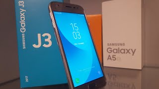 UNBOXING SI REVIEW SAMSUNG GALAXY J3 2017 ROMANA