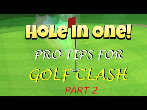 Golf Clash Pro Tips 2 (For Beginners) and Close Win