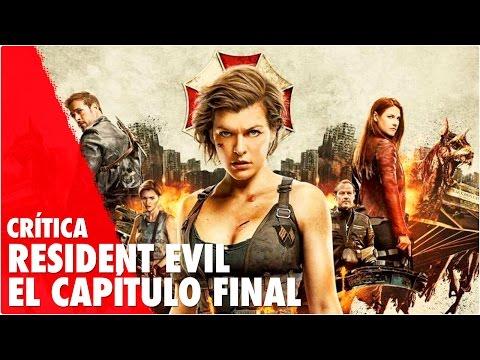 Crítica RESIDENT EVIL: CAPÍTULO FINAL