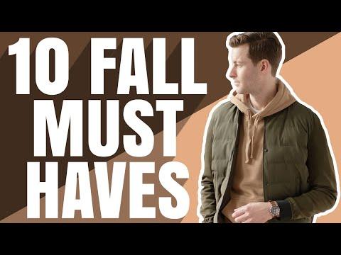 Top 10 Fall Essentials Every Man Needs   Fall Fashion 2020   Dorian & Ashley Weston