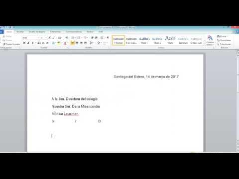 Como se empieza una carta formal en ingles