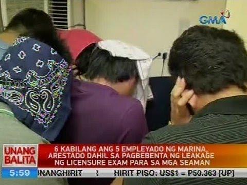 6 kabilang ang 5 empleyado ng Marina, arestado