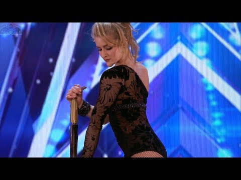 America's Got Talent 2017 Maria Popazov Strength & Elegance Full Audition S12E05