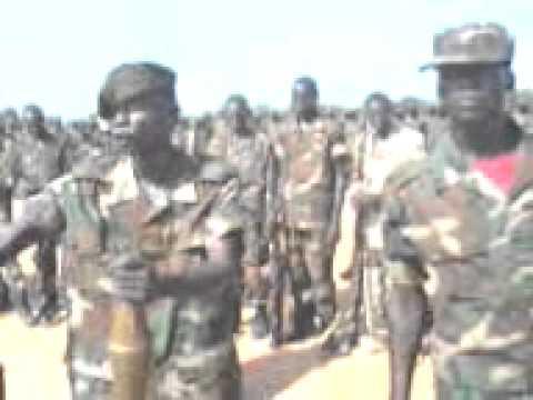 Major General Mathew Puljang Top  SSLA commander for  Mayom County
