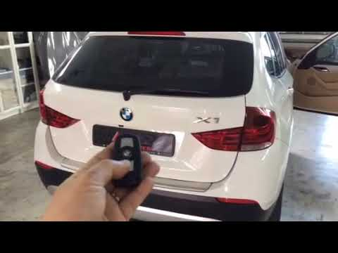 BMW X1👉2012 Installed Electronic Tailgate Lift,Vaccum Lock