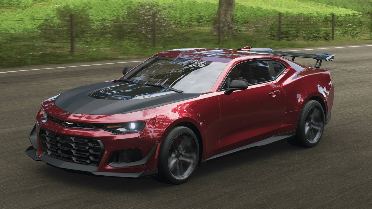Forza Horizon 4 2018 Chevrolet Camaro Zl1 1le Fh4 Youtube
