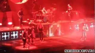 Rammstein feat. Apocalyptica - Mein Herz Brennt [15.02.2012 - Helsinki] (multicam by popaduba) HD