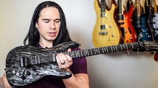 Like it's MADE from METAL! Schecter Guitars Silver Mountain - Demo / Review