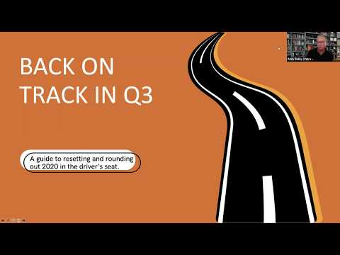"""Petra Coach Presents, """"Back on Track in Q3 with Marshall Martin: Ensure Leaders Reset & Round Out..."""
