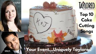 Download Modern Cake Cutting Songs Videos   Dcyoutube Taylored Weddings Top 10 Cake Cutting Songs for 2017