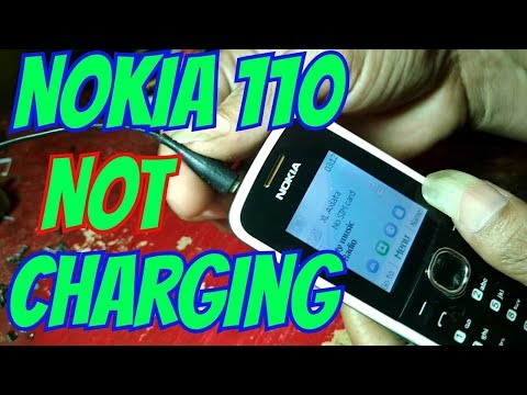 Nokia 110 not charging solution