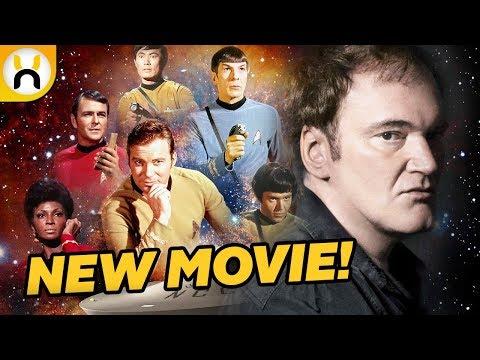 Quentin Tarantino Developing Star Trek Reboot!