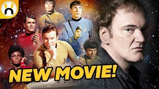 Quentin Tarantino Developing Star Trek Reboot!