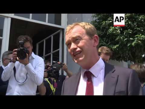 Liberal leaders meet ahead of EU summit