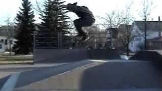 Skateboarding enjoyment.