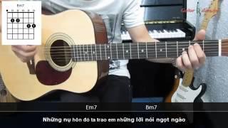 Dạy Học Guitar] [Đệm Hát] [Điệu Pop R&B]   Như vậy nhé   Khắc Việt