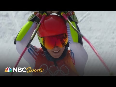Mikaela Shiffrin wins giant slalom gold medal (FULL RUN) | NBC Sports