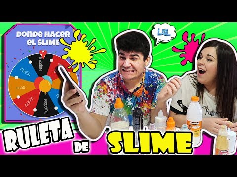 Ruleta de SLIME LOCA 2 Qué slime nos tocará hacer ? | Slime roulette challenge  LOL Retos divertidos